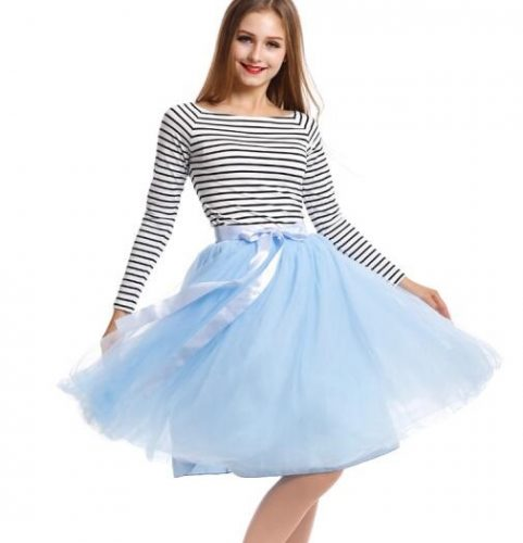 Best-Quality-7-Layers-Midi-Tulle-Skirt-American-Apparel-Tutu-Skirts-Womens-Petticoat-Elastic-Belt-2016 (4)