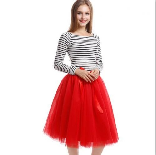 Best-Quality-7-Layers-Midi-Tulle-Skirt-American-Apparel-Tutu-Skirts-Womens-Petticoat-Elastic-Belt-2016 (5)