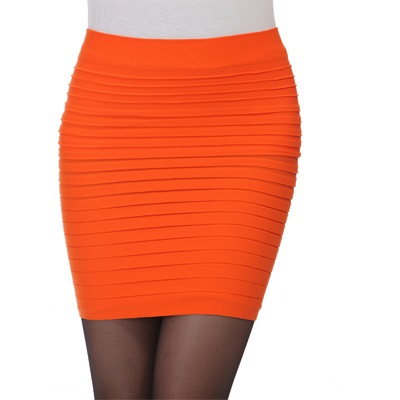 Cheapest-Free-Shipping-New-Fashion-2015-Summer-Women-Skirts-High-Waist-Candy-Color-Plus-Size-Elastic (4)