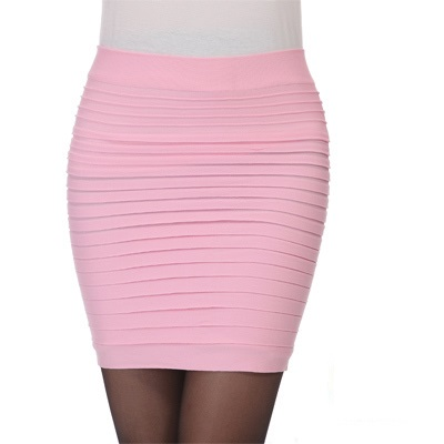 Cheapest-Free-Shipping-New-Fashion-2015-Summer-Women-Skirts-High-Waist-Candy-Color-Plus-Size-Elastic (5)