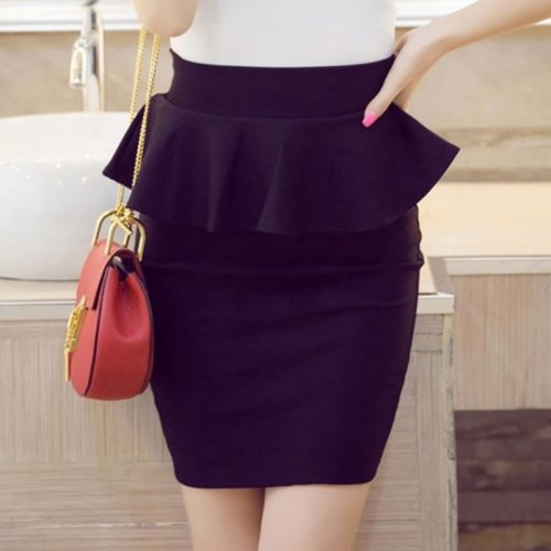Plus-Size-Women-Pencil-Skirts-Ruffles-2016-Summer-Fashion-Korean-Casual-Ladies-Bodycon-Skirts-Elegant-Open