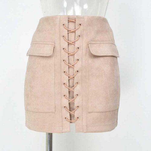 Smoves-Women-s-Vintage-High-Waist-External-Pocket-Tight-Suede-Lace-Up-Skirt-Autumn-Winter-Thick (6)
