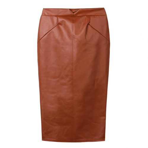 XXL-Hot-Sale-Women-Soft-PU-Leather-Skirt-High-Waist-Slim-Hip-Pencil-Skirts-Vintage-Bodycon (4)