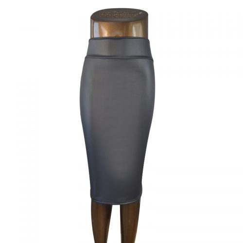 free-shipping-plus-size-high-waist-faux-leather-pencil-skirt-black-skirt-12-colors-XS-S (3)