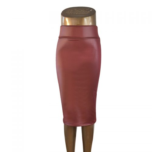 free-shipping-plus-size-high-waist-faux-leather-pencil-skirt-black-skirt-12-colors-XS-S (6)